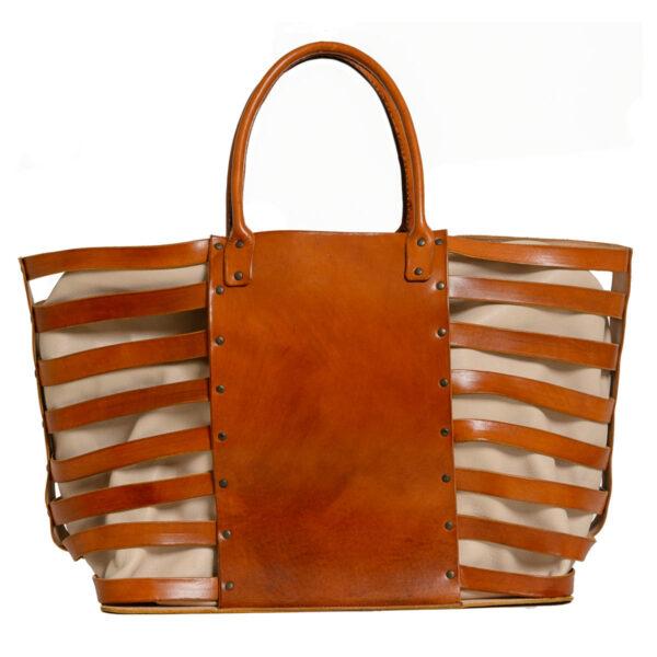 Posidonia XX I Leather Shopper Bags I Handmade in Spain I Ángela Martí